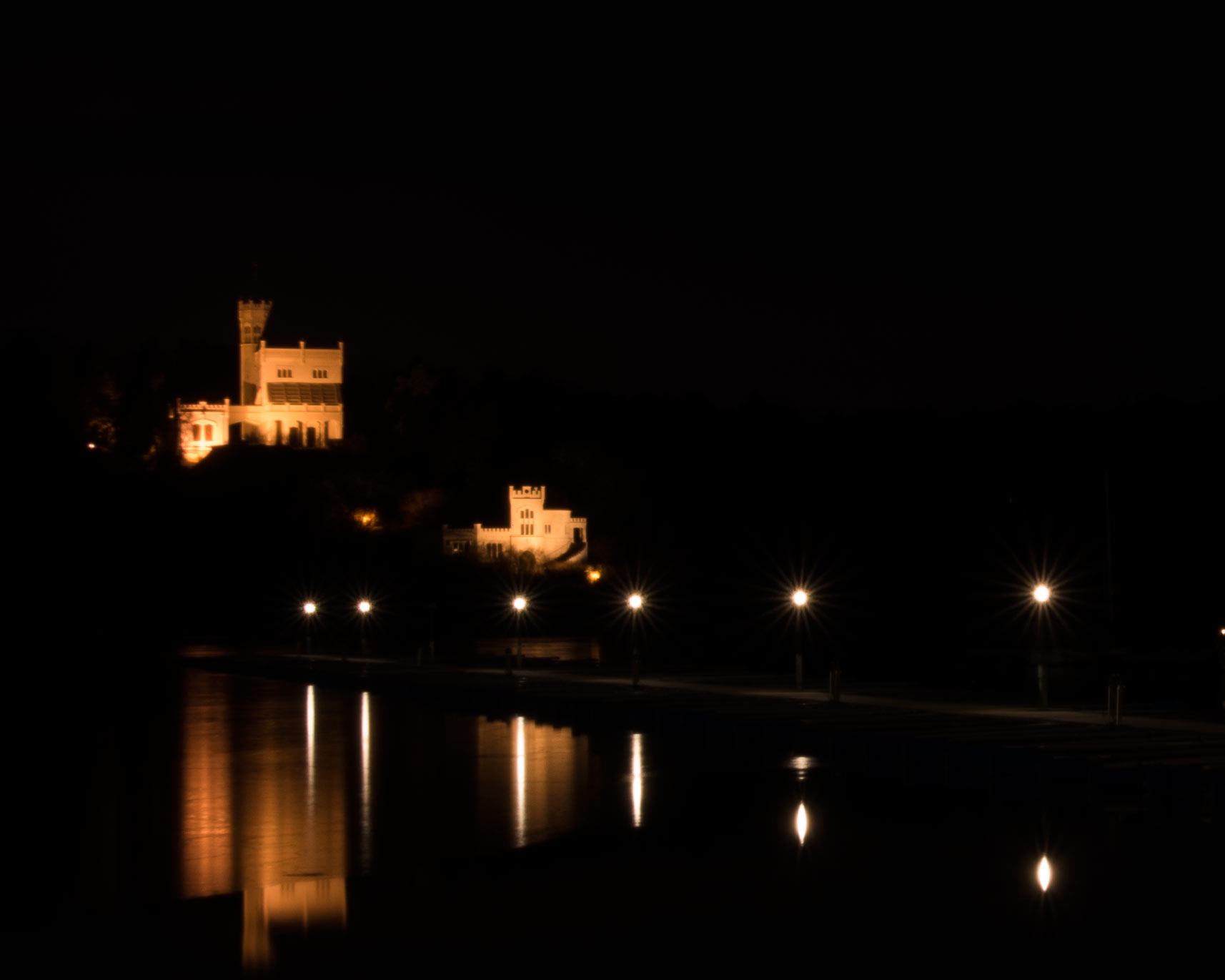 Fine Art Photograph Leisure Castle reflections v3